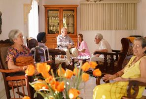 elderly people in home