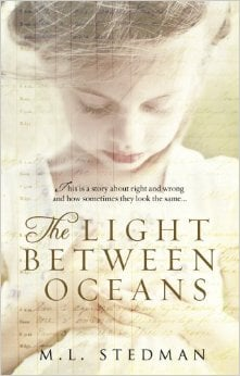 Front cover of the book The Light Between Oceans