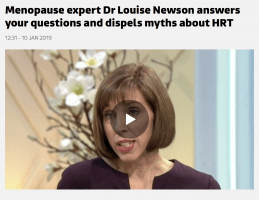 Menopause expert Dr Louise Newson answers your questions and dispels myths about HRT