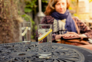 Self-care: what do you need to that's right for you? Woman drinking G&T