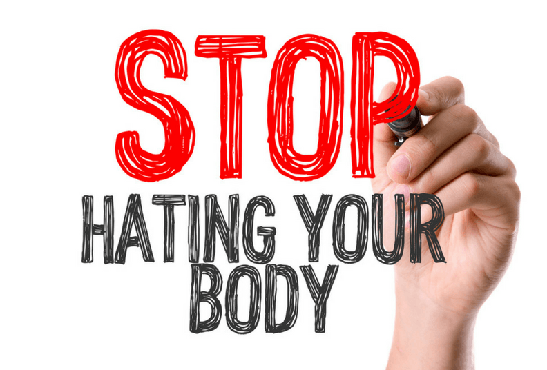 Stop dieting and start loving your body