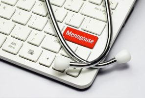 Menopause button on keyboard