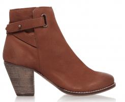 Carvela Smart Block Heeled Ankle Boots, Tan