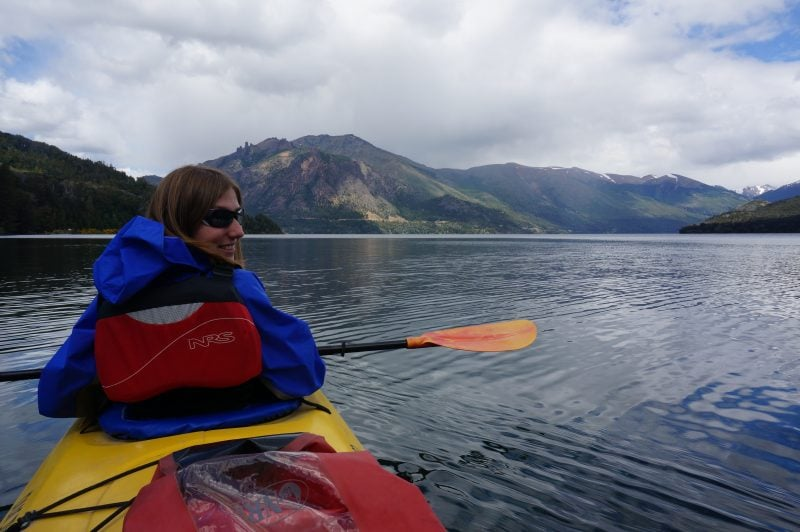 Kayaking in Bariloche