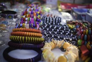 Women Accessories in the local market (Pakistan)