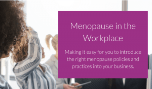 Menopause in the workplace homepage