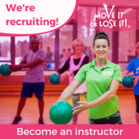 We're recruiting advert for Move It or Lose It