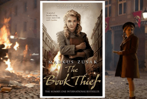 Front cover of The Book Thief by Markus Zusak