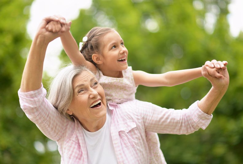 Keeping contact with grandchildren after divorce