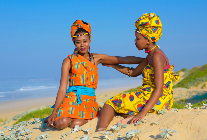 African ladies in fashion