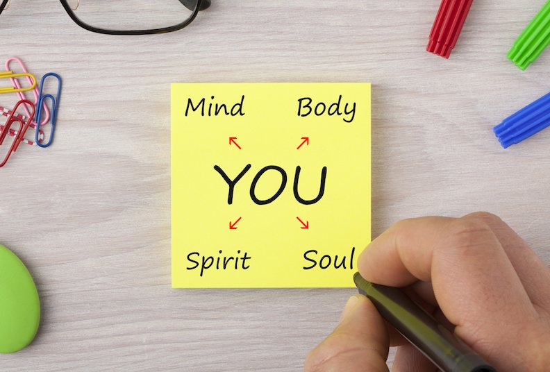 5 areas of life that guide your spiritual, physical and mental wellbeing