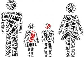 Family law. Concept related to different areas of law.