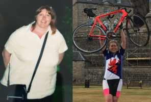 Deborah before and after - achieving goals