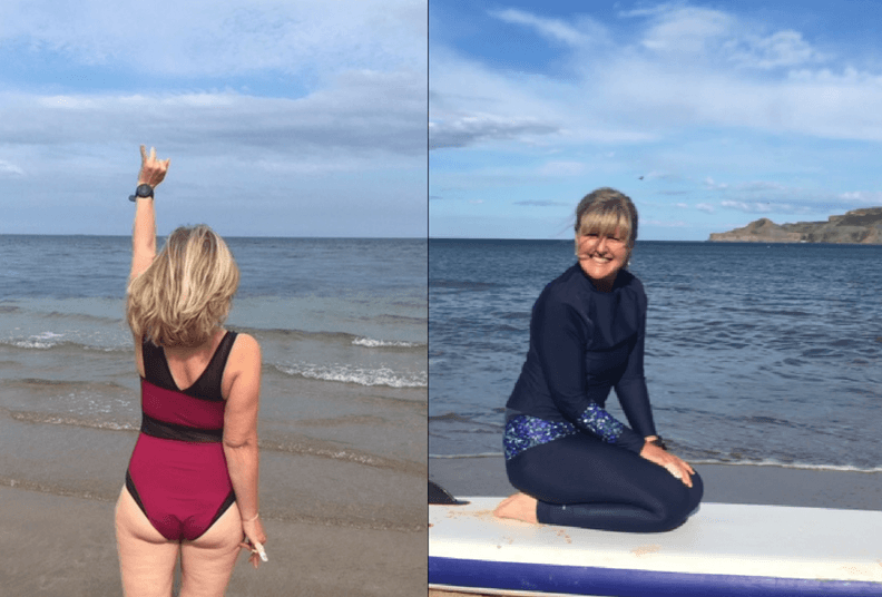 Jo Moseley, a real beach body