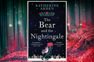 The Bear and The Nightingale by Katherine Arden front cover