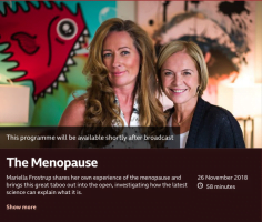 CBT trials on BBC The Truth About The Menopause