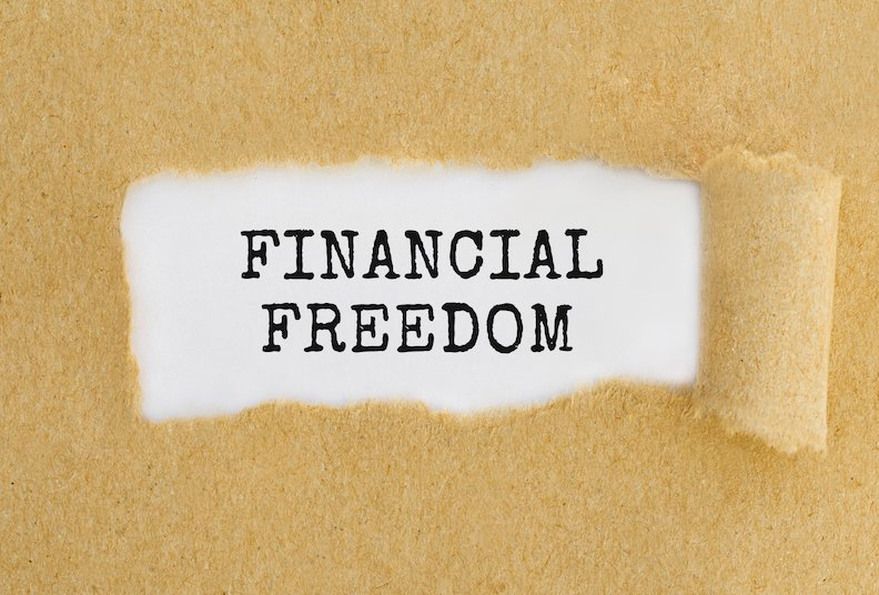 Financial freedom by reducing debt