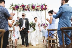 Making your big day memorable: mature couple