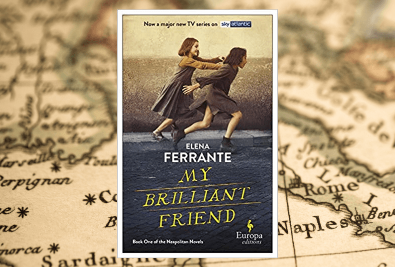 Book club: my brilliant friend by elena ferrite