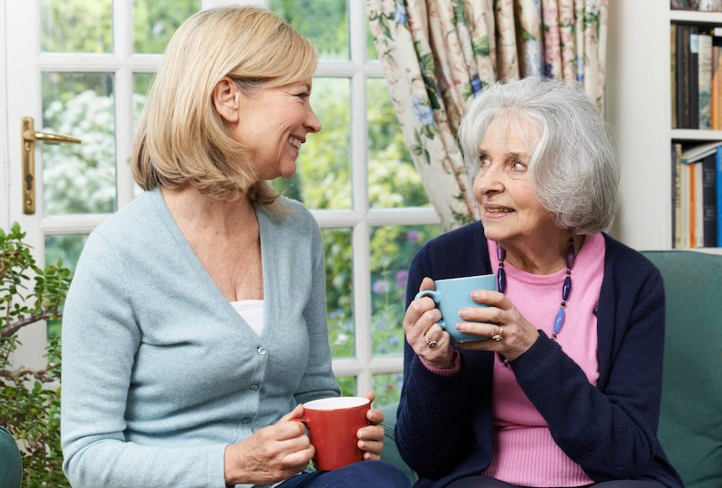 How to live comfortably with an elderly loved one