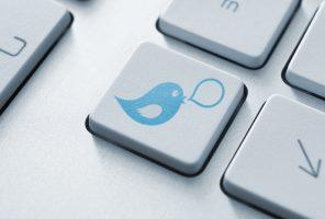 Social media button concept
