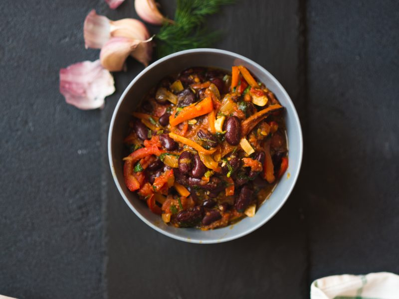 Vegan chilli… a great winter warmer