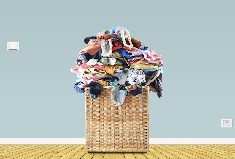Are you still doing your grown-up children's washing?