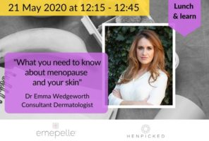 menopause, skin, acne, dryness