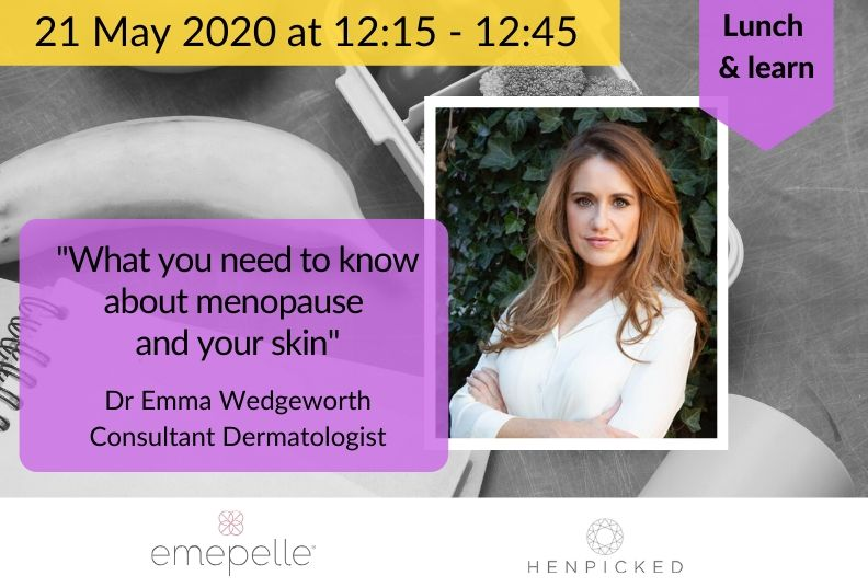 Lunch & learn: what you need to know about menopause and your skin