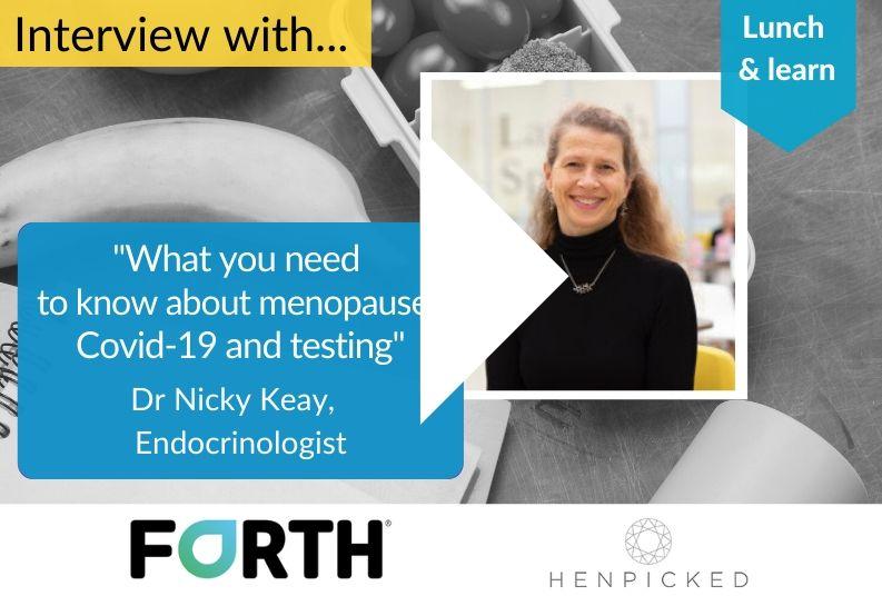 Menopause, hormones, Covid19, treatment, menopause testing