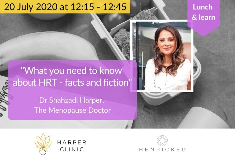 Lunch & learn: HRT facts and fiction – what you need to know