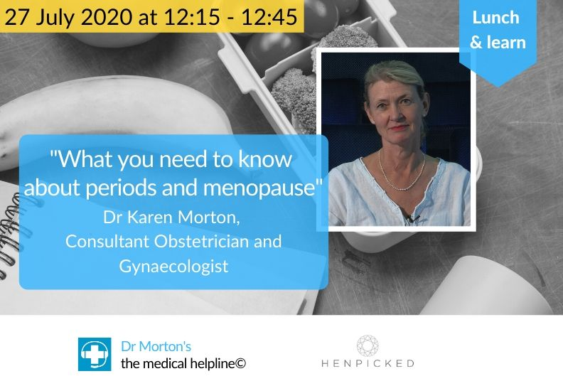 Lunch & learn: Menopause and periods – what you need to know