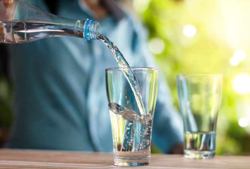 Five easy ways to drink more water every day
