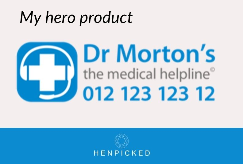 My hero product: Dr Morton's