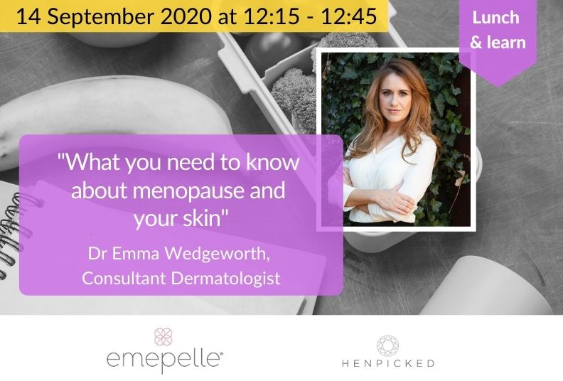 Lunch & learn: Menopause and your skin