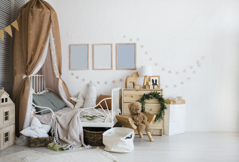 Four cool ways to decorate a toddler's bedroom