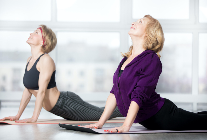Menopause, posture and Pilates