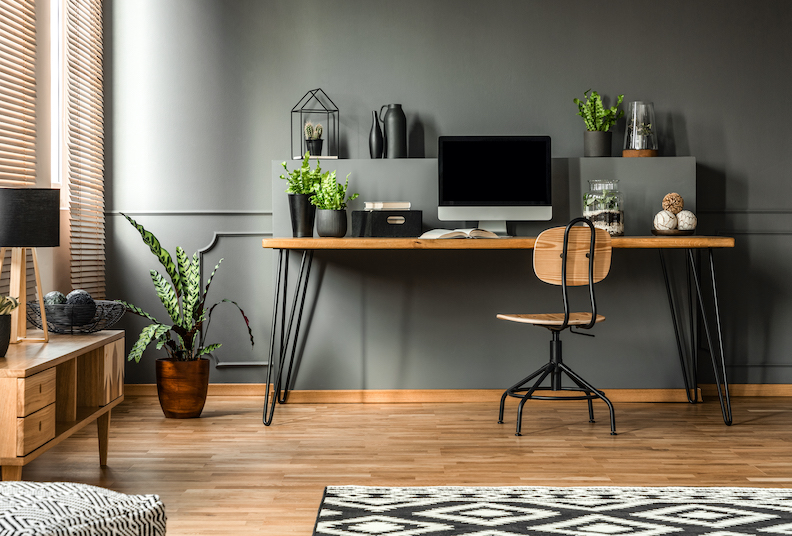10 stylish ideas for decorating a small home office