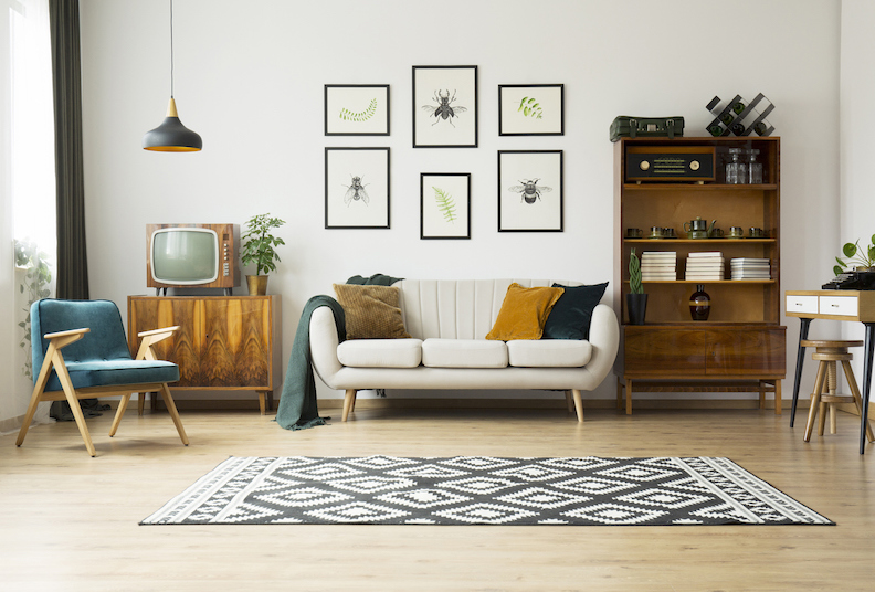 Five easy ways to upgrade your living room décor