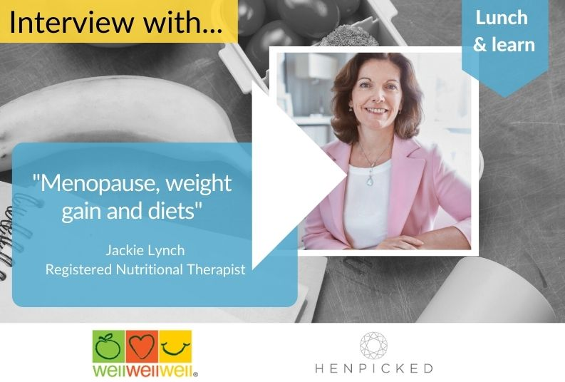 menopause, weight gain, diets, Jackie Lynch, Henpicked
