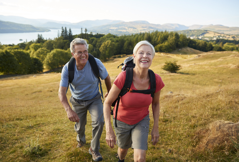Five reasons hiking can be good for couples